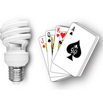 Cel Light Playing Cards